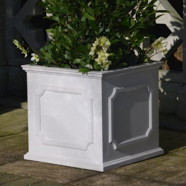 Heritage square stone planter (Medium) - Portland