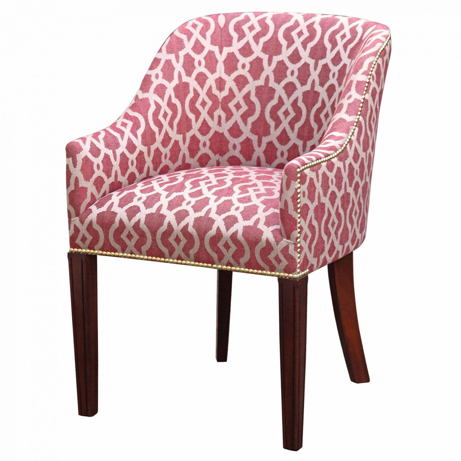 hinton tub chair in a ruby weave fabric chairs in stock from