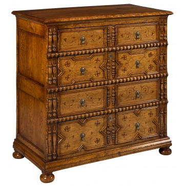 Inlaid Chest of Drawers as Victor Chinnery