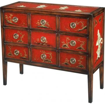 Japanese chinoiserie chest