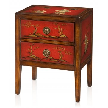 Japanese style bedside chest