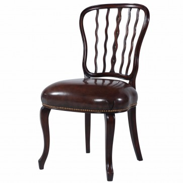Late Georgian Style mahogany dining chair