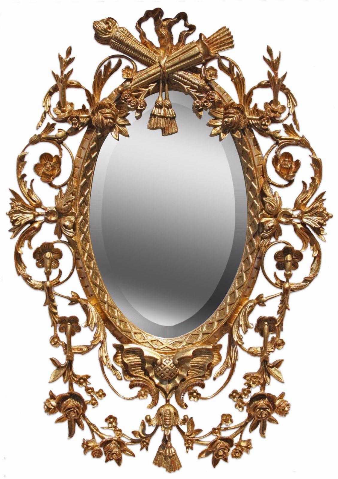 Louis XVI style mirror - Antique finish, Wall mirrors from ...