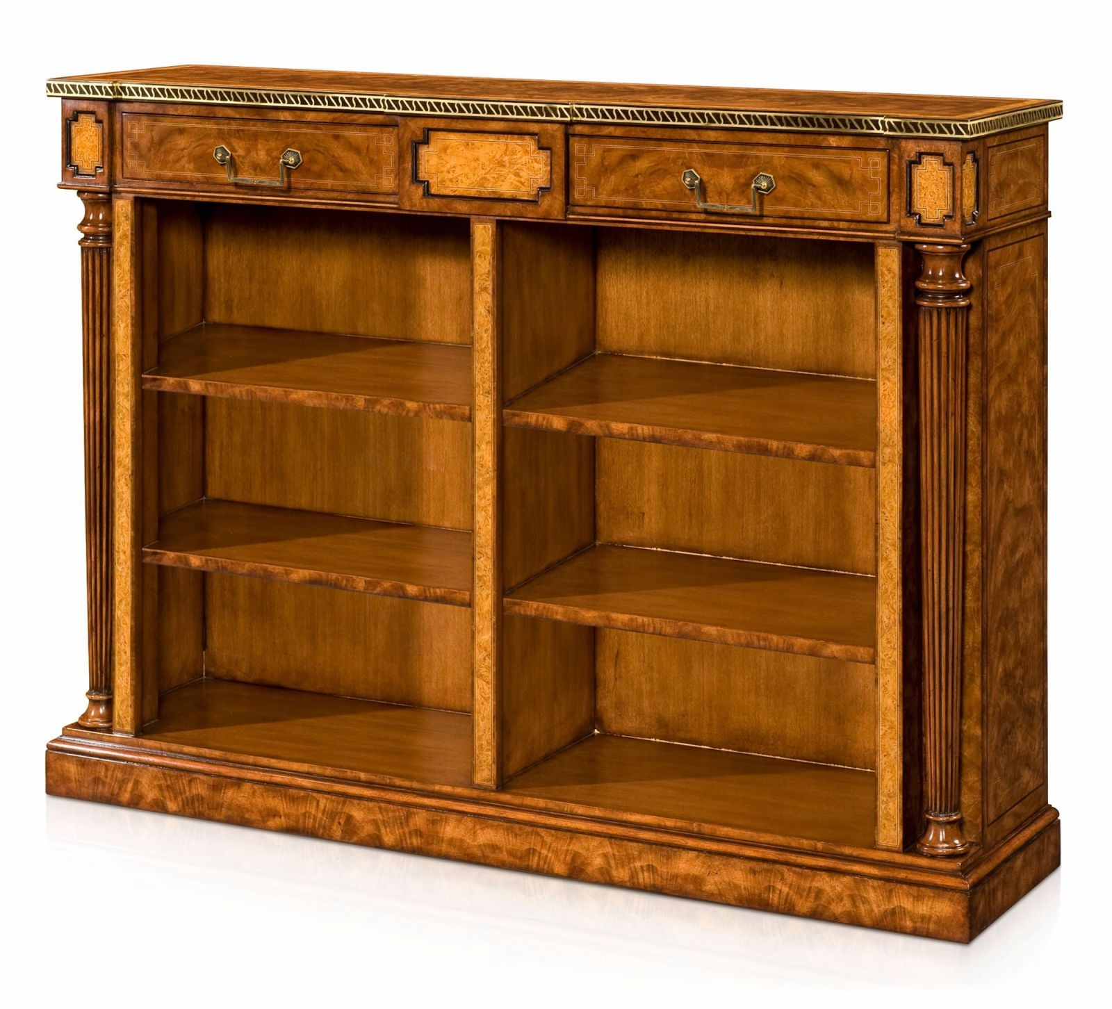 Low open bookcase, Open bookcases from Brights of Nettlebed