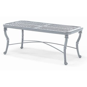 Luxor Large coffee table - Aluminium