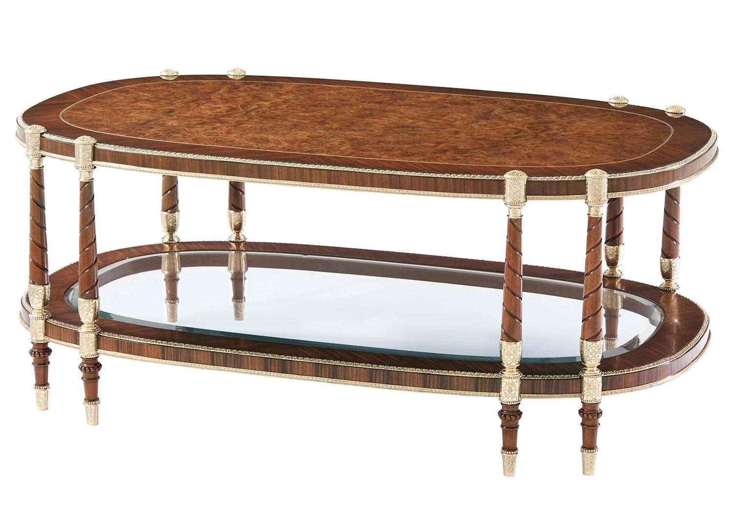 Madrone burl coffee Table