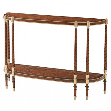 Madrone burl Console Table