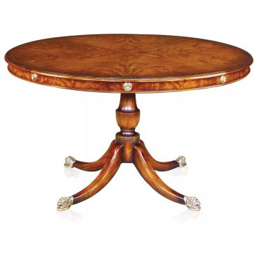 Mahogany breakfast table
