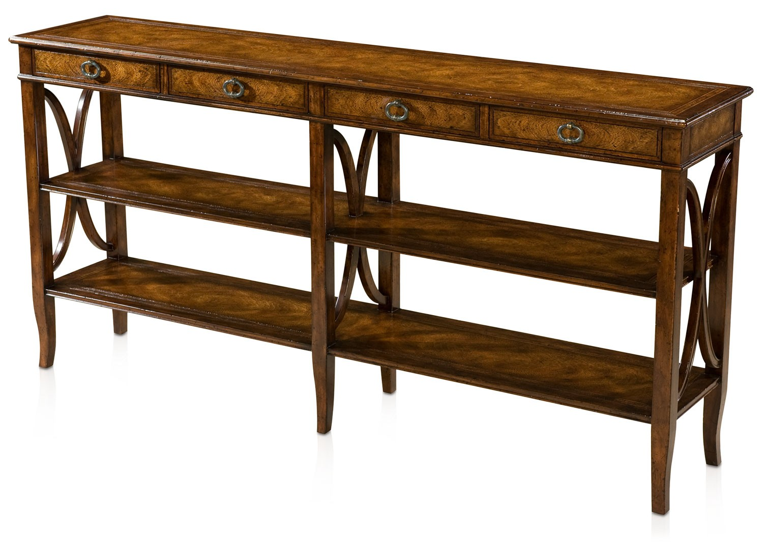 Mahogany console table console hall tables from brights for 10 inch depth console table