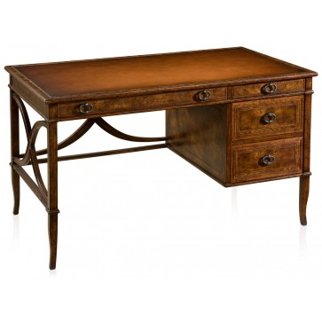 Mahogany crossbanded writing desk