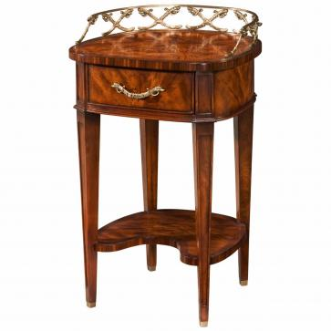 Mahogany lamp table or bedside