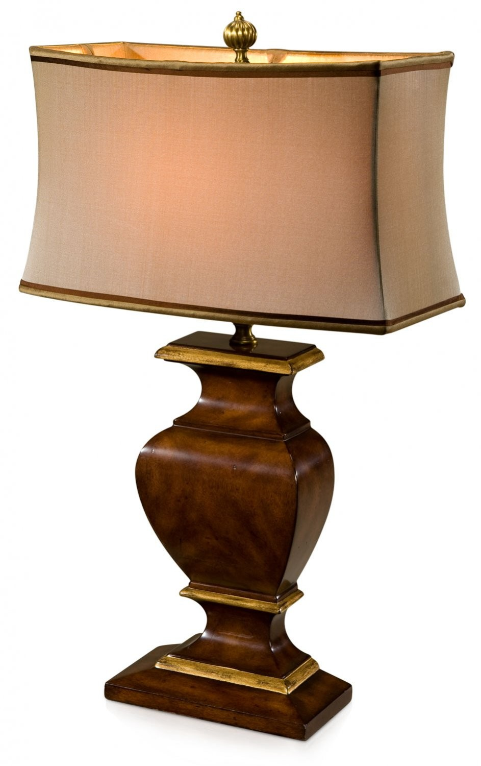 Mahogany table lamp table lamps from brights of nettlebed mahogany table lamp geotapseo Choice Image