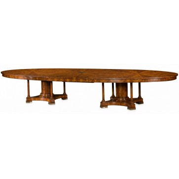 Mahogany veneered boardroom table - Ex demonstrator