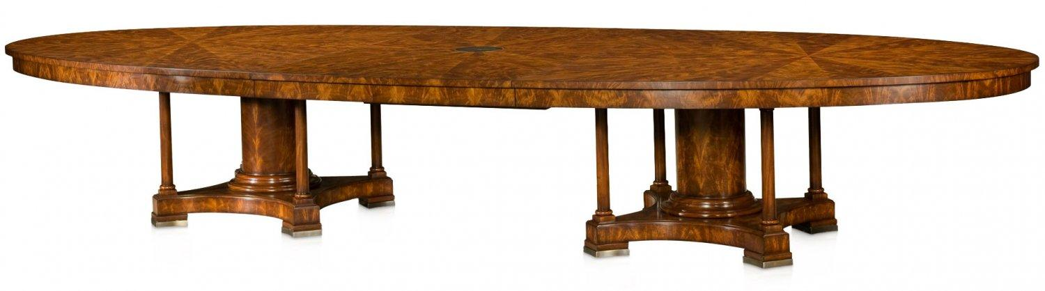 Mahogany veneered boardroom table