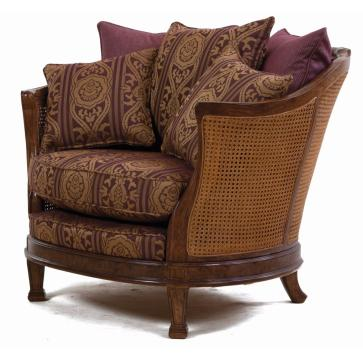 Mauretania chair in heather damask