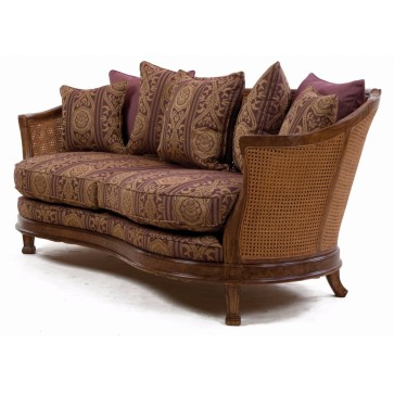Mauretania sofa in heather damask