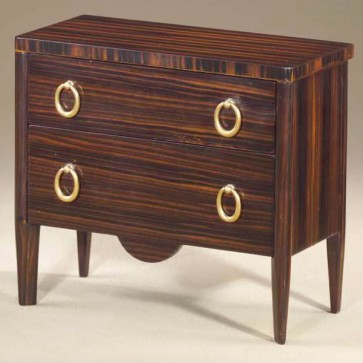 Miniature Macasser ebony chest