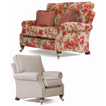 Monet 2 seat sofa and chair