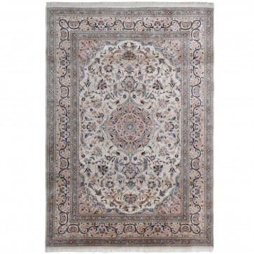 Nain 20thC design 100% silk carpet