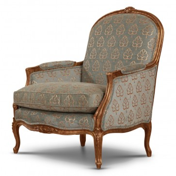 Naples chair with giltwood frame