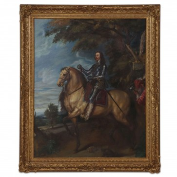 Oil Painting after 'Equestrian Portrait of Charles I' by Anthony van Dyck