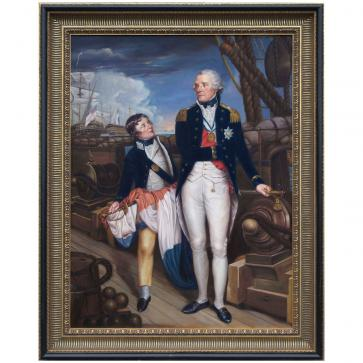 Oil Painting after 'Horatio Nelson' by Guy Head