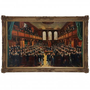 Oil Painting after The House of Commons 1833 by Sir George Hayter