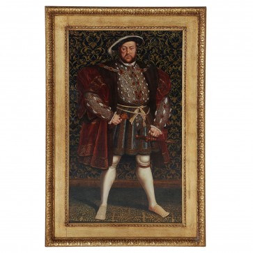 Oil Painting of King Henry VIII of England after Hans Eworth