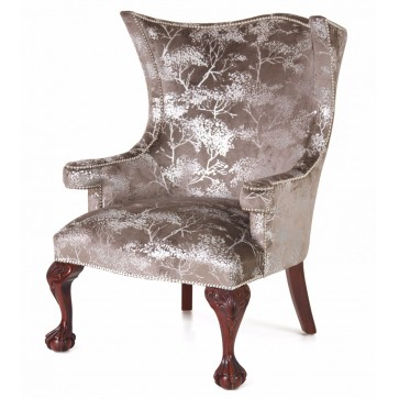 Okeford fabric wing chair