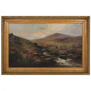 Original 19th Century English Landscape oil painting