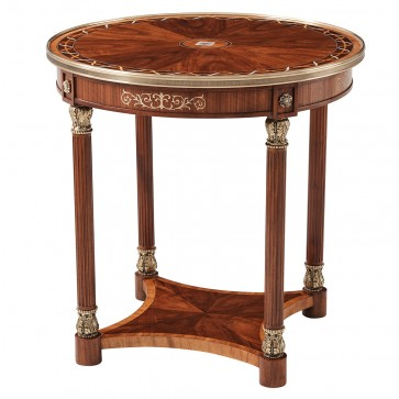 Paulette Oval Side Table II