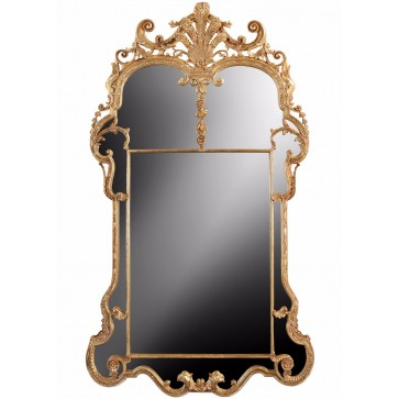 Period giltwood mirror