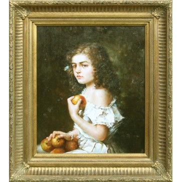 Portrait of a Girl With Fruit