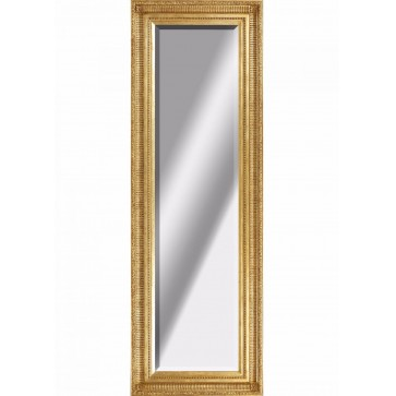 Reeded giltwood mirror