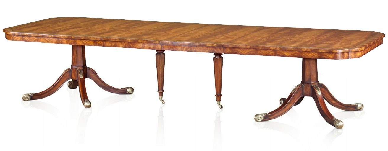Regency Style Extending Mahogany Dining Table Dining Tables From Brights Of