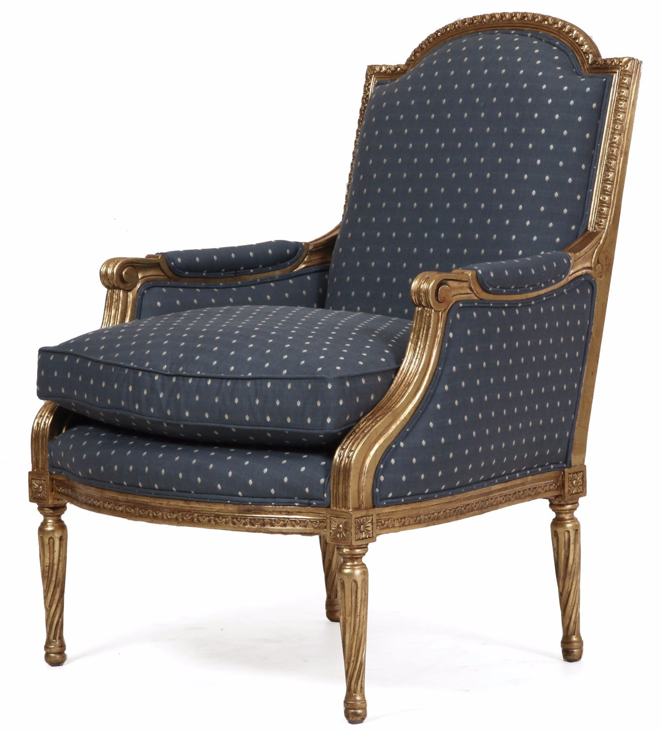 Replica French gilded Alexander chair