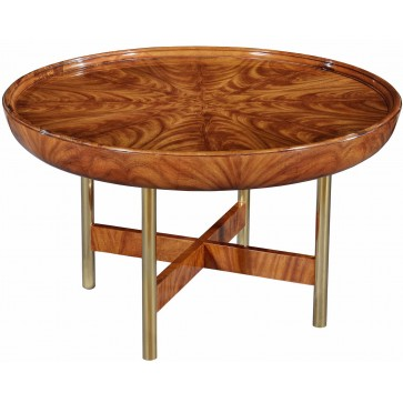 Rex Limited edition Art Deco style round coffee table
