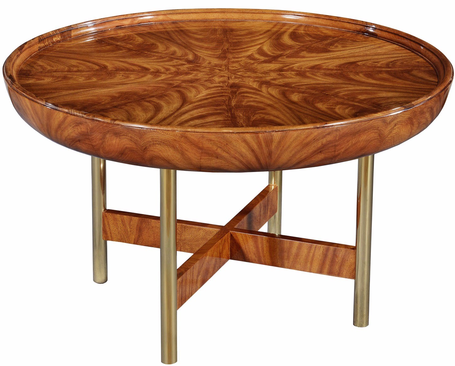 Rex limited edition art deco style round coffee table coffee tables from brights of nettlebed Coffee tables uk