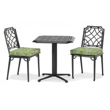 Rissington metal bistro set
