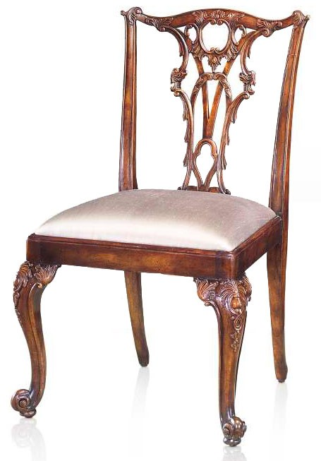 Rococo style chair dining chairs from brights of nettlebed for Rococo furniture reproductions