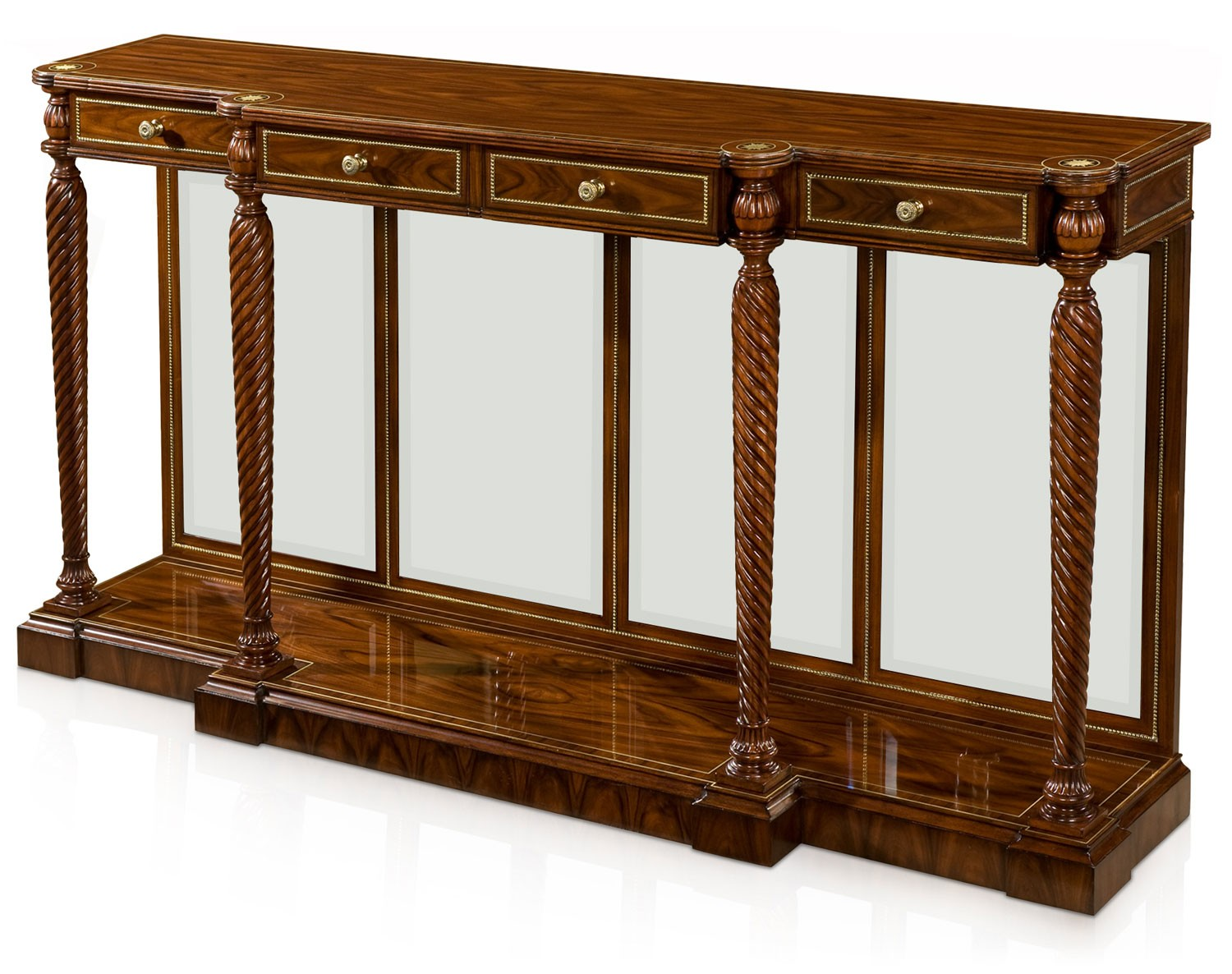Rosewood console table