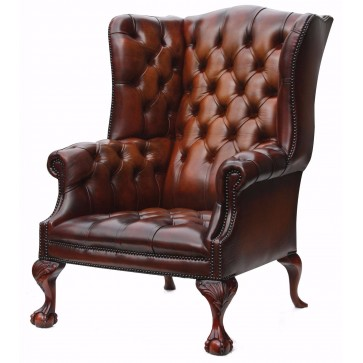Salisbury Leather Wing Chair