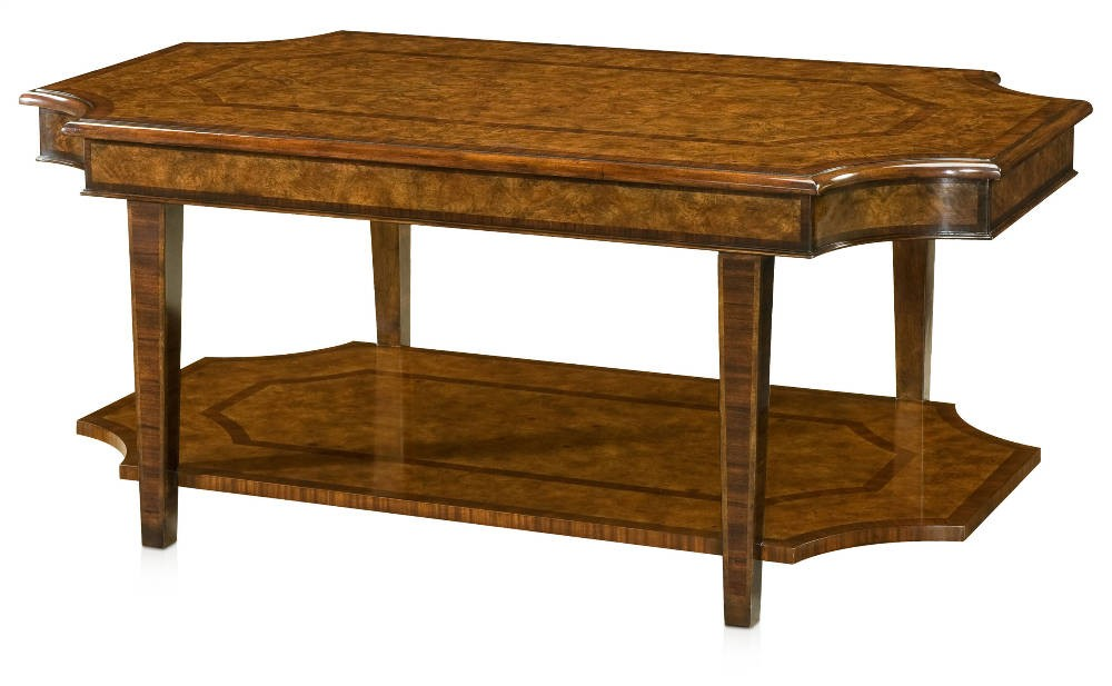 sheraton style ash burl coffee table coffee tables from brights of nettlebed. Black Bedroom Furniture Sets. Home Design Ideas