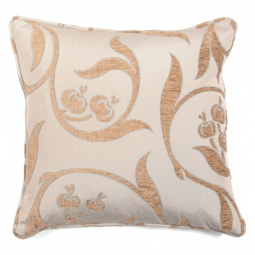 "Square 18"" scatter cushion in light duck egg fabric"