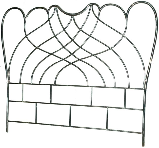 Stainless steel headboard - 5ft King