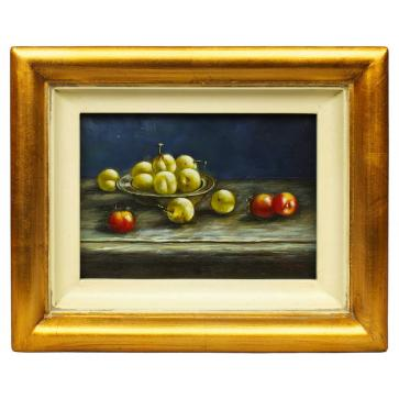 Still Life - Fruits, oil painting