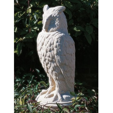 Stone Eagle Owl garden ornament
