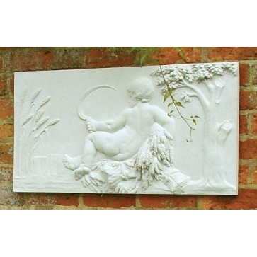 Stone wall plaque - Summer