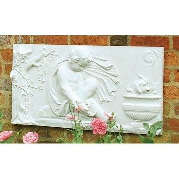 Stone wall plaque - Winter