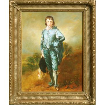 The Blue Boy oil painting after Thomas Gainsborough
